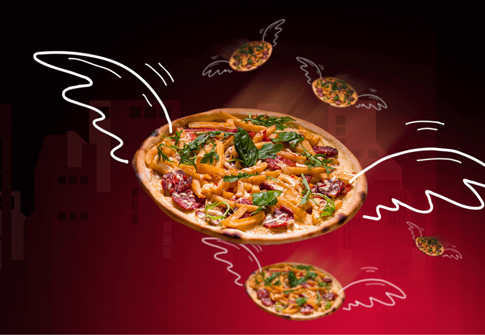 TAYGER <br>территория <br>твоей пиццы